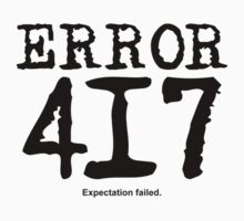 Error 417. Expectation failed. by FrontierMM