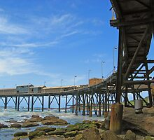 Catho Hill Bay Pier by Liz Percival