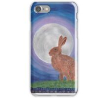March Hare iPhone Case/Skin