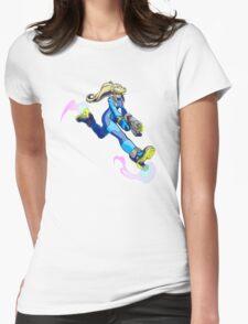 Zero Suit Samus Womens Fitted T-Shirt