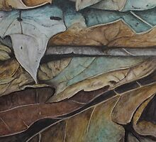 Leaf Strata by Simone Riley