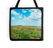 Cattle Walk the Line Tote Bag