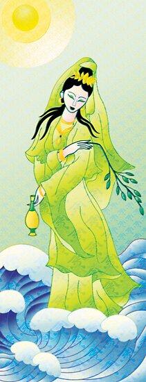 Kuan Yin by Jacqueline Gwynne