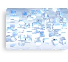 Ice Cubes Canvas Print
