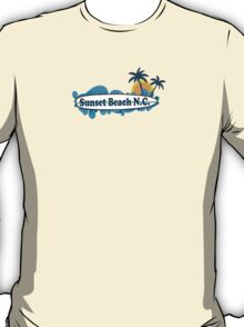 Sunset Beach - North Carolina. T-Shirt