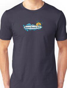 Sunset Beach - North Carolina. Unisex T-Shirt