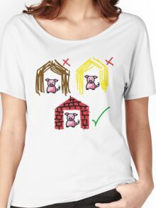 Three Little Pigs Women's Relaxed Fit T-Shirt