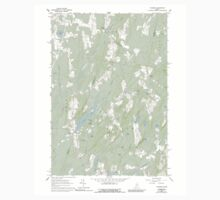 Maine USGS Historical Map Palermo 102857 1961 24000 One Piece - Short Sleeve