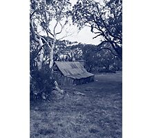 wallaces hut Photographic Print