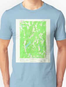 Maine USGS Historical Map Palermo 807012 1961 24000 T-Shirt