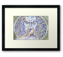 the garden god II - tribute to norman © 2008 patricia vannucci   Framed Print