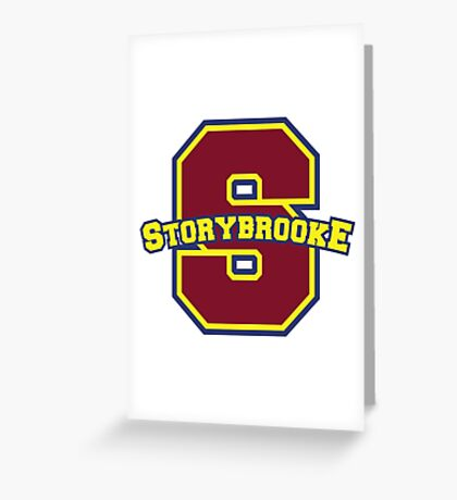 Once Upon a Time - Storybrooke Greeting Card