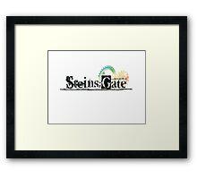 Steins;Gate  シュタインズ・ゲート Framed Print