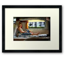 Moving Thoughts Framed Print