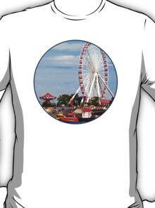 Chicago IL - Ferris Wheel at Navy Pier T-Shirt