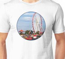 Chicago IL - Ferris Wheel at Navy Pier Unisex T-Shirt