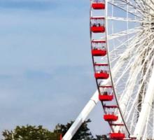 Chicago IL - Ferris Wheel at Navy Pier Sticker