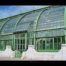 Greenhouse in the Vienna's park - View 2 by Roberta Angiolani