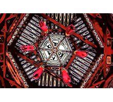 Pagoda Ceiling Photographic Print
