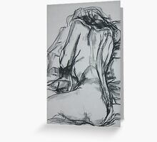 Reclining Nude 2 Greeting Card