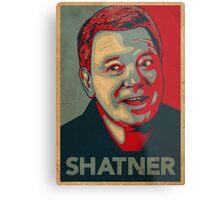SHATNER Metal Print