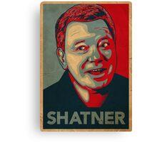 SHATNER Canvas Print