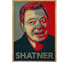 SHATNER Photographic Print
