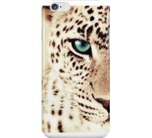 Green eyed tiger iPhone Case/Skin