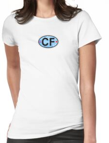 Cape Fear - North Carolina. Womens Fitted T-Shirt