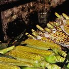 BBQ Grilled Corn served sea side by shonanthebeach