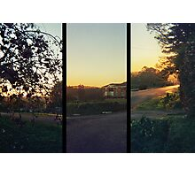 Sunset Triptych Photographic Print