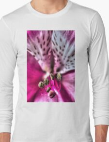 HDR - Abstract Azalea Macro Long Sleeve T-Shirt