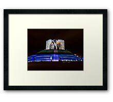 Clifford's Tower, York, Illuminations Framed Print