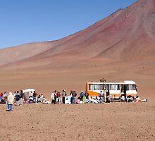 Andean Caravan by Alexandros