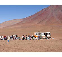 Andean Caravan Photographic Print