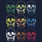 Skull x9 by raae