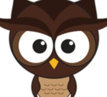 O - Owl Sticker