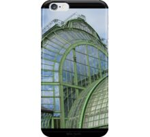 Greenhouse in the Vienna's park - View 4 iPhone Case/Skin