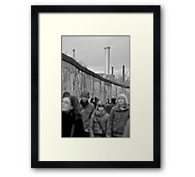 Muckup day Framed Print