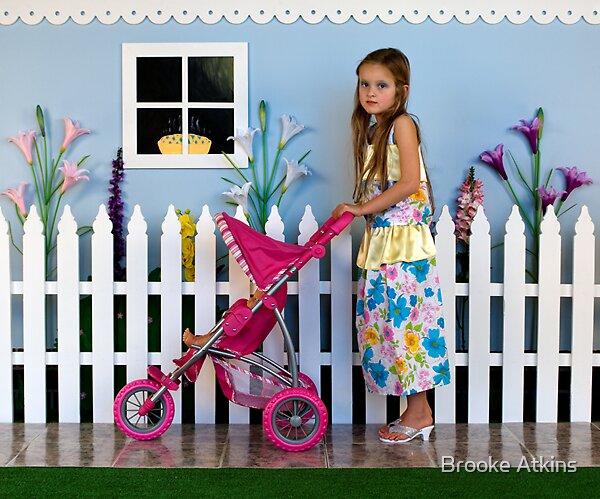 Doll's Pram by Brooke Atkins