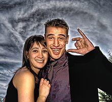 Adam and Stella, fun style! by Mick Smith
