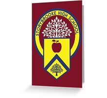 Once Upon a Time - Storybrooke High School Greeting Card