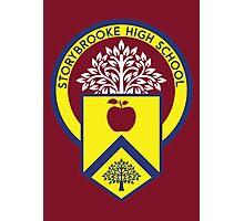 Once Upon a Time - Storybrooke High School Photographic Print