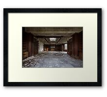 Abandoned UK Orphanage Framed Print