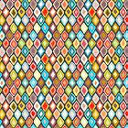 Almas diamond ikat dark by Sharon Turner