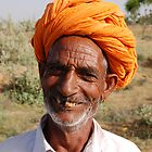 Smile from Rajasthan by Peter Gostelow