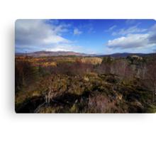 The Trossachs National Park Canvas Print
