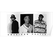 American Hustle (Black) Poster
