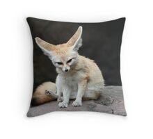 Fancy Fox Throw Pillow