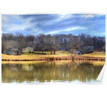 Walnut Grove Pond Poster